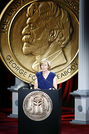 Hearst Television - Candy Altman at the 68th Annual Peabody Awards for Hearst-Argyle Television-Commitment 2008