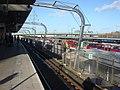 Canning Town Docklands Light Railway station, Platform 3 - geograph.org.uk - 1126504.jpg