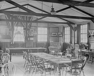 Witley Camp - Canteen at Witley Camp