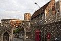 Canterbury Cathedral Palace Entrance (4904594550).jpg