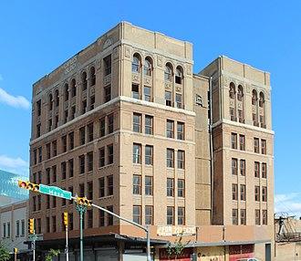 National Register of Historic Places listings in El Paso County, Texas - Image: Caples Building El Paso,Tx 01