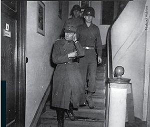 Edwin Graf von Rothkirch und Trach - Rothkirch in American custody in 1945