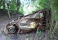 Car wreck - geograph.org.uk - 481499.jpg