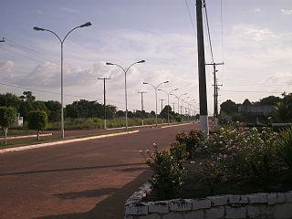 Caracaraí Municipality in North, Brazil