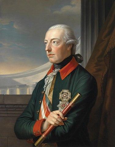 Иосиф II, портрет работы К. фон Залеса