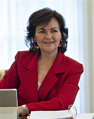 Carmen Calvo en el primer consejo de ministros del gobierno de Sánchez.png