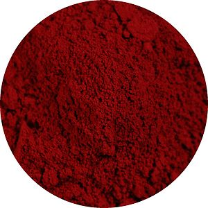 Carmine (color) - Powdered carmine pigment