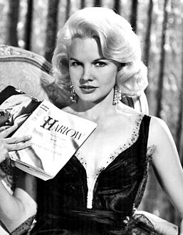 Baker as Jean Harlow in Harlow (1965)