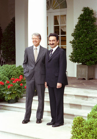 Foreign relations of Turkey - U.S.President Jimmy Carter with Turkish Prime Minister Bülent Ecevit at the White House, 31 May 1978.