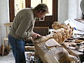Carving galloper horses, FHT Lifton 20.5.2006 P5200016 (11522155375).jpg