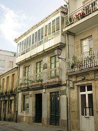 Casa de Castelao en Rianjo.