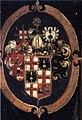 Caspar Memberger dÄ (attr) Verkündigung detail Wappen Johann Georg Hallwil.jpg