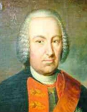 Caspar Otto von Glasenapp - Image: Caspar Otto von Glasenapp Gouverneur
