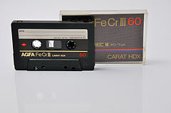 cassette audio wikimonde. Black Bedroom Furniture Sets. Home Design Ideas