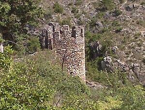 Castelnou, Pyrénées-Orientales - Image: Castellnou dels Aspres