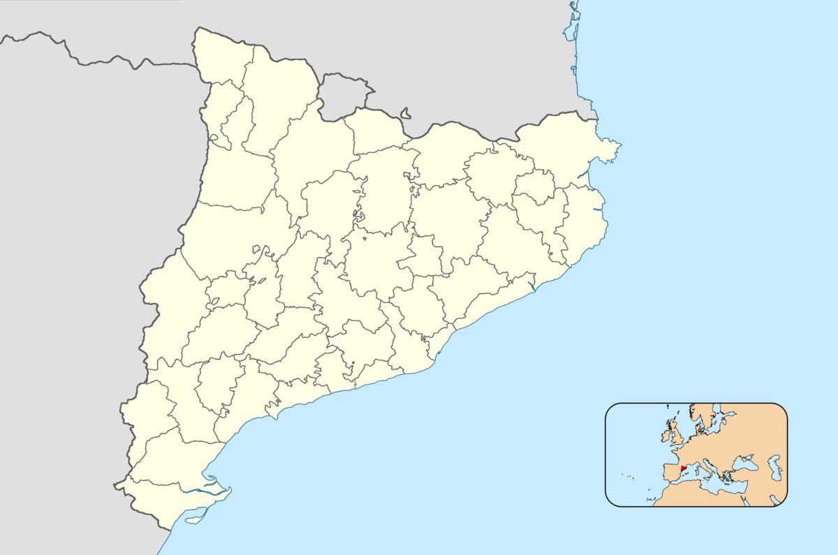 Comarques de Catalunya  Viquipdia lenciclopdia lliure