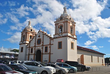 Santiago, capital of the Veraguas province. Catedral santiago veraguas.jpg