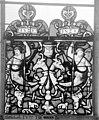 Cathédrale - Vitrail, Chapelle Saint-Joseph, Vie de saint Romain, lancette médiane, premier panneau, en haut - Rouen - Médiathèque de l'architecture et du patrimoine - APMH00031313.jpg