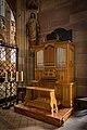 Cathédrale Notre-Dame de Strasbourg orgue chapelle Saint-Laurent nov 2014.jpg