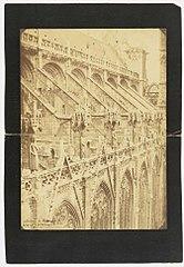 Photographie en hauteur de la nef de la cathédrale de Rouen