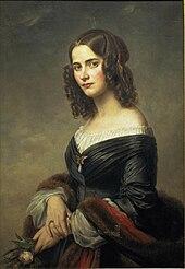 Cécile Charlotte Sophie Mendelssohn Bartholdy (1846) (Quelle: Wikimedia)