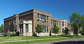 National Register of Historic Places listings in Winona County, Minnesota - Image: Central Grade School Winona