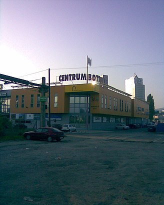 How to get to Centrum Bottova with public transit - About the place