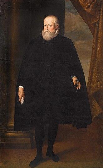 Cesare Aretusi - Cesare Aretusi, Portrait of Alfonso II of Este