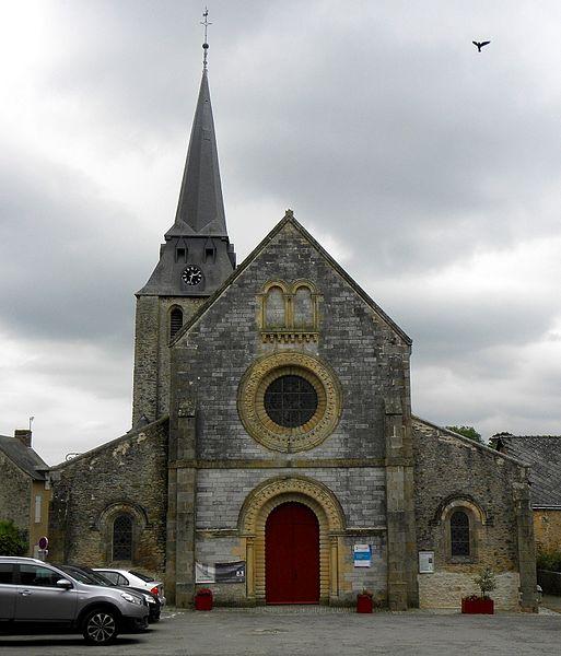 Église Notre-Dame de l'Assomption de Chémeré-le-Roi (53).