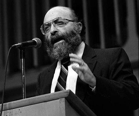 Chaim Potok ad una conferenza in Gerusalemme, 1976