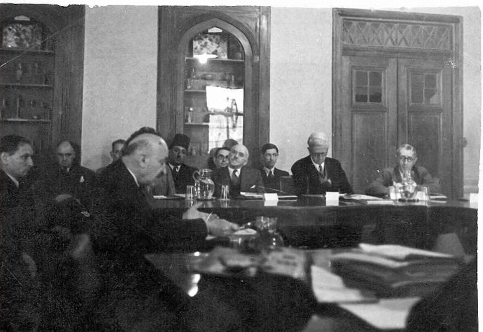 Chaim Weizmann at Anglo-American Committee