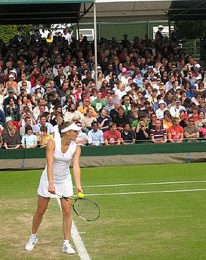 Anna Chakvetadze - At Wimbledon 2007
