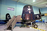 Chance Vought F4U-4 Corsair Angel of Okinawa BuNo 97286 RSide NightMode FOF 1Jan2013 (14403812978).jpg