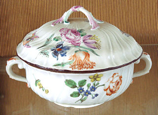 Chantilly porcelain French porcelain