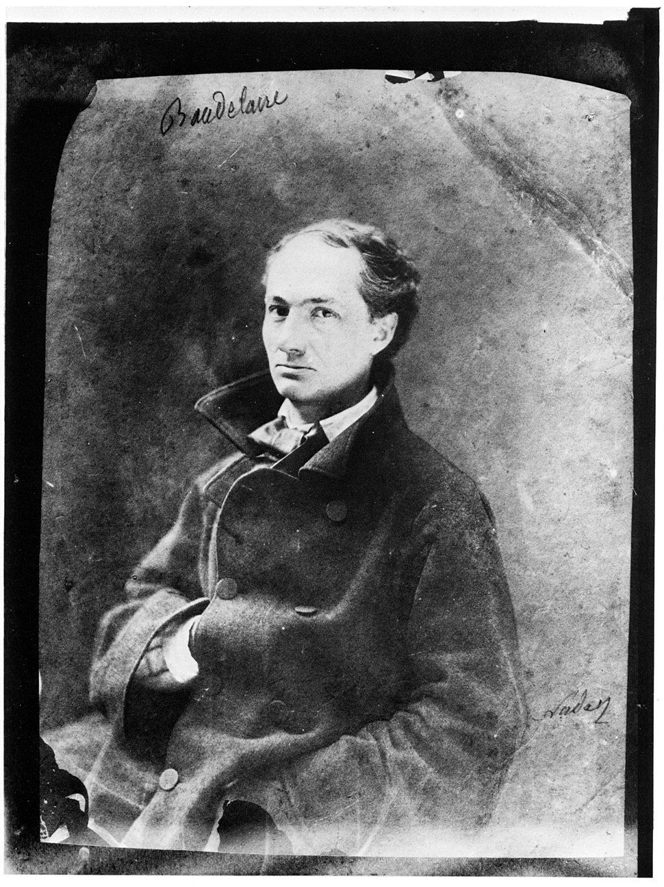 Charles Baudelaire 1855 Nadar