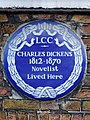 Charles Dickens 1812-1870 novelist lived here.jpg