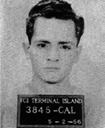 Charles Manson mugshot FCI Terminal Island California 1956-05-02 3845-CAL