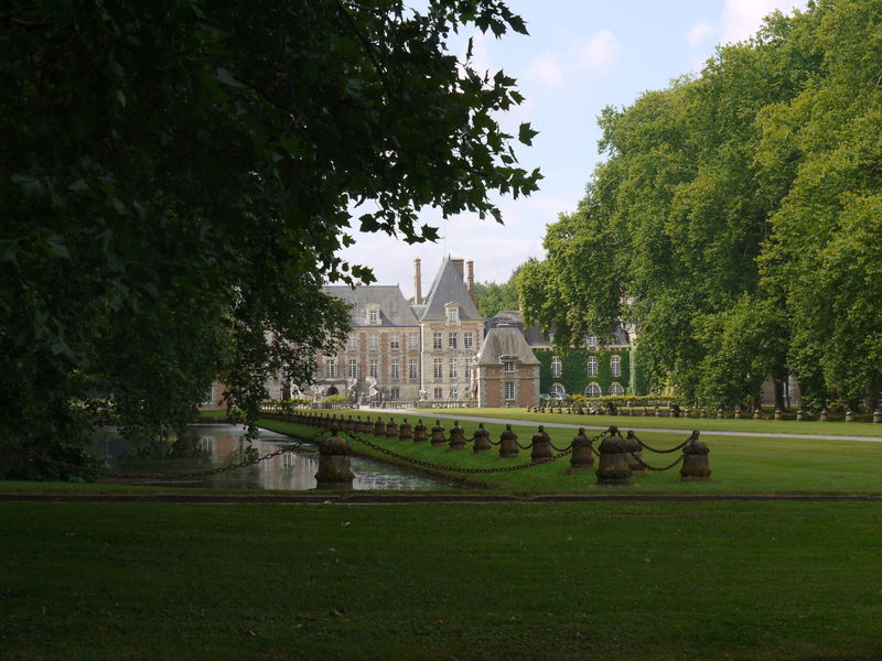 chateau et parc, jardin