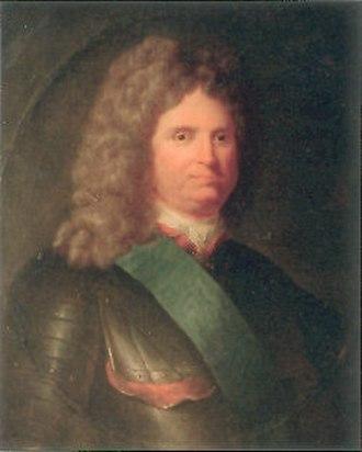François Louis de Rousselet, Marquis de Châteaurenault - The Marquis de Châteaurenault, by Antoine Graincourt