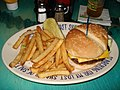 Cheeseburger and fries at Jimmy Buffett's Margaritaville.jpg
