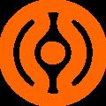Cheondoism symbol dark orange.PNG