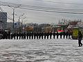 Cherkizovskaya, policemans preparing to guard a footbal stadium (Черкизовская, милиционеры, готовящиеся охранять стадион во время футбольного матча) (5380794192).jpg