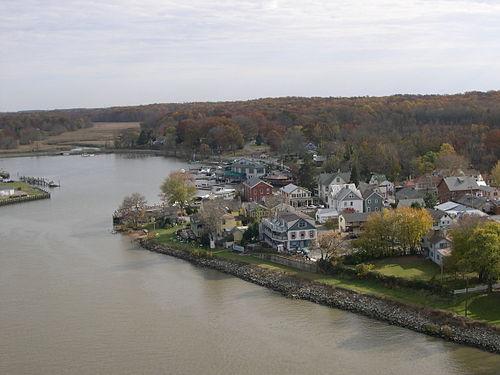 Chesapeake City mailbbox