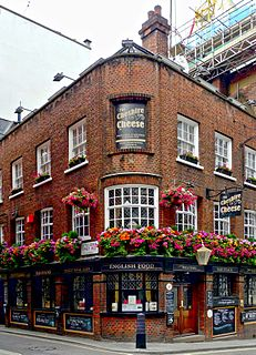 pub in Essex Street, Strand, London
