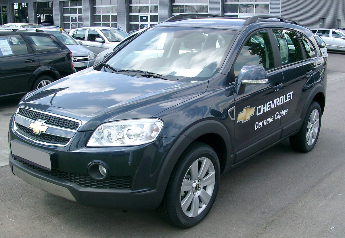 Px Chevrolet Captiva Front on 2006 Kia Sorento