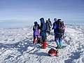 Chimborazo climbers on top.jpg
