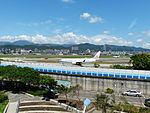 China Airlines Boeing 737-809 B-18605 Taxiing at Taipei Songshan Airport 20150908b.jpg