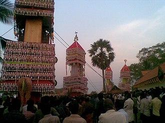 Kizhakkekallada - Chittumala Ultsavam(In Malayalam)--A Religious Festival .