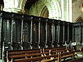 Choir Stalls,The Priory Church of St Mary and St Michael, Cartmel - geograph.org.uk - 447150.jpg