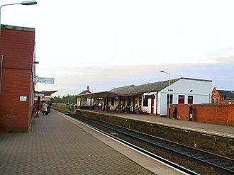 Chorley railway station - Image: Chorley Railway Station